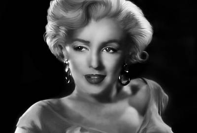 Goodbye Norma Jean Poster by Julie L Hoddinott