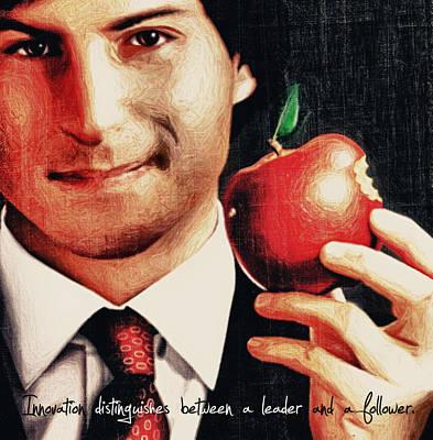 Goodbye Steve Jobs Poster by Radu Aldea