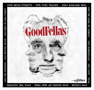Goodfellas  Poster by Michael Spatola