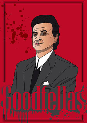 Goodfellas - Tommy Poster by Ralf Wandschneider