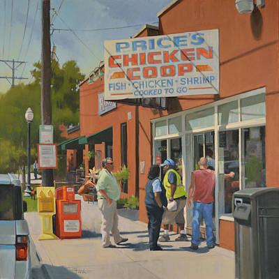 Got Chicken? Poster by Todd Baxter