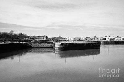 govan graving docks Glasgow Scotland uk Poster by Joe Fox