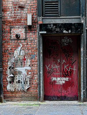 Graffiti Door Poster by Paul Jarrett