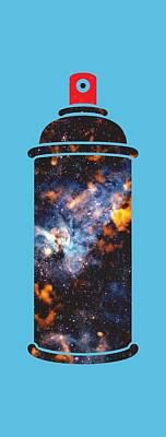 Graffiti Universe Poster by Michelle Murphy