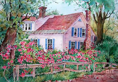 Grafton Village House Poster by Sherri Crabtree