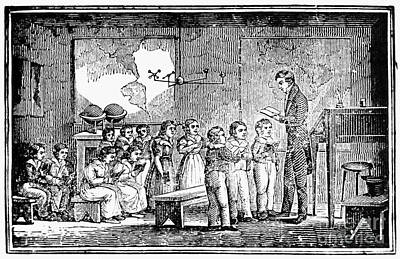 Grammar School, 1790s Poster by Granger