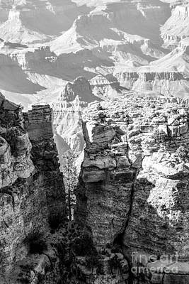 Grand Canyon Bw Impression Poster by Juergen Klust