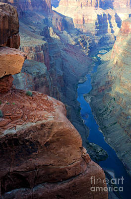 Grand Canyon Toroweap Poster by Bob Christopher
