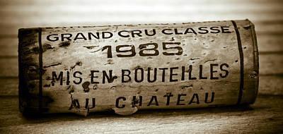 Grand Cru Classe 1985 Poster by Frank Tschakert