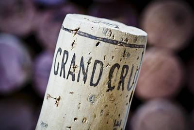 Grand Cru Poster by Frank Tschakert