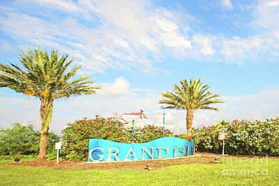Grand Isle  Poster by Scott Pellegrin