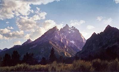 Grand Teton Poster by Scott Norris