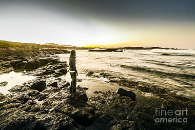 Granville Harbour Sunrise Poster by Jorgo Photography - Wall Art Gallery