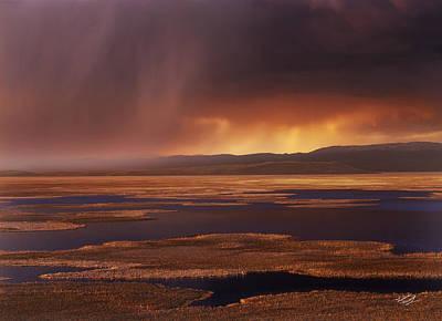 Grays Lake Splendor Poster by Leland D Howard