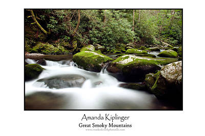 Great Smoky Poster Poster by Amanda Kiplinger
