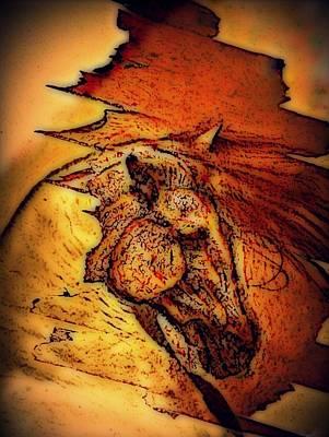 Greek Horse Poster by Paulo Zerbato
