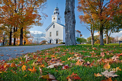 Greenfield Church Poster by Susan Cole Kelly