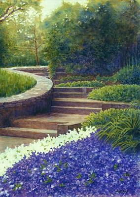 Gretchen's View At Cheekwood Poster by Janet King