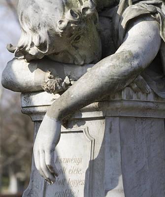 Grief Poster by Marc Huebner