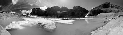 Grinnell Glacier Panorama Poster by Sebastian Musial