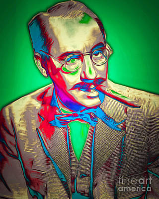 Groucho Marx 20151218v2 Poster by Wingsdomain Art and Photography
