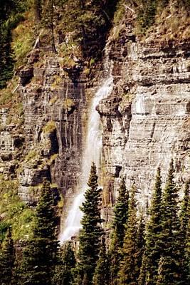 Gtts Waterfall Poster by Marty Koch