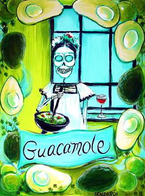 Guacamole Poster by Heather Calderon