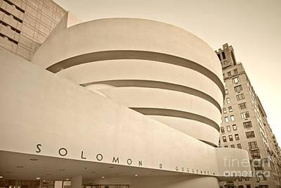 Guggenheim Museum Poster by Juergen Held