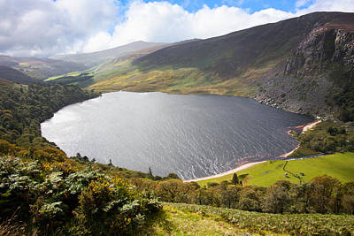 Guinness Lake In Wicklow Mountains  Ireland Poster by Semmick Photo