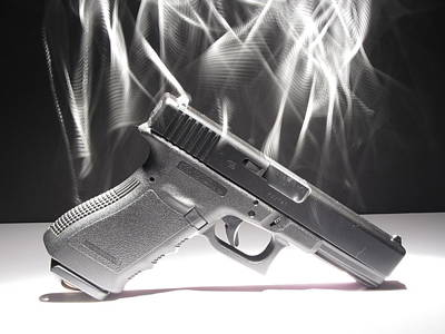 Gun Smoke Poster by Michael Ludlum