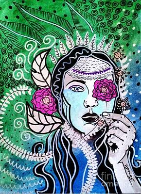 Gypsy Mary Poster by Amy Sorrell