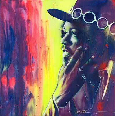 'gyspy Sun And Rainbows' Poster by Christian Chapman Art