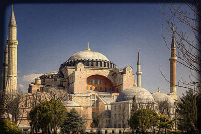Hagia Sophia Poster by Joan Carroll