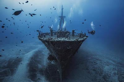 Hai Siang Wreck Poster by Barathieu Gabriel