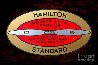 Hamilton Standard Windsor Locks Poster by Olivier Le Queinec
