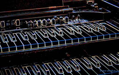Hammond Organ Poster by Bill