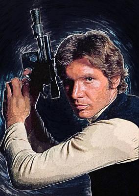 Han Solo Poster by Taylan Soyturk