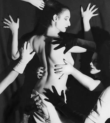 Hands Upon Me Poster by Jaeda DeWalt