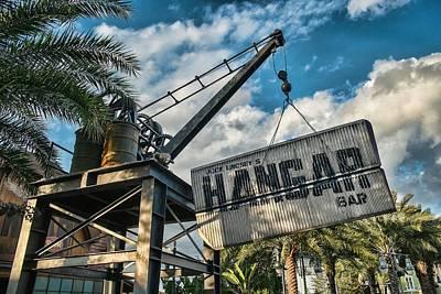 Hangar Bar Poster by Louis Ferreira