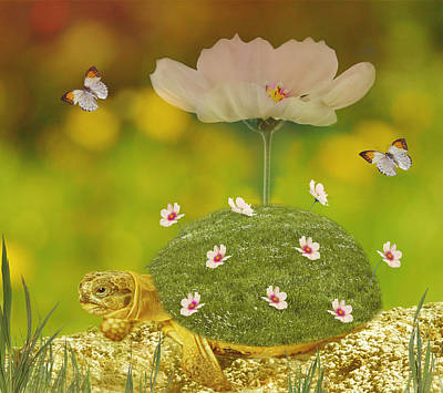 Happy Spring Poster by Art Spectrum