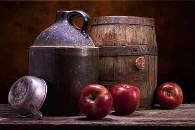 Hard Cider Still Life Poster by Tom Mc Nemar