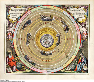 Harmonia Macrocosmica Poster by MotionAge Designs
