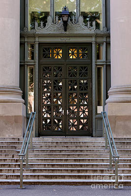 Harvard Law School Langdell Library Poster by Jannis Werner