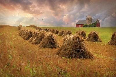 Harvest Blessings Poster by Lori Deiter