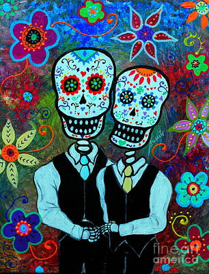 Hasta Que La Muerte Nos Separe Poster by Pristine Cartera Turkus