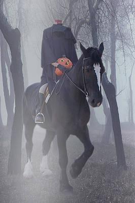 Headless Horseman Poster by Christine Till