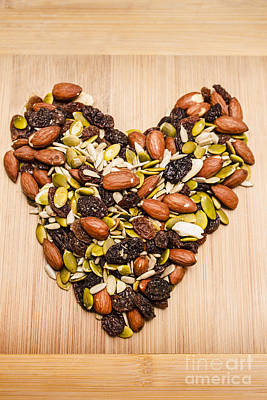 Heart Healthy Snacks Poster by Jorgo Photography - Wall Art Gallery