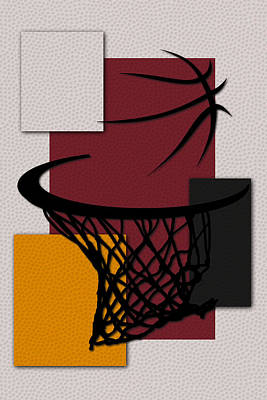 Heat Hoop Poster by Joe Hamilton