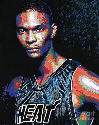 Miami Heat Pride Poster by Maria Arango