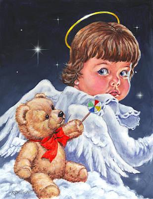 Heavenly Poster by Richard De Wolfe